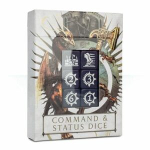 Warhammer: Age of Sigmar - Command and Status Dice
