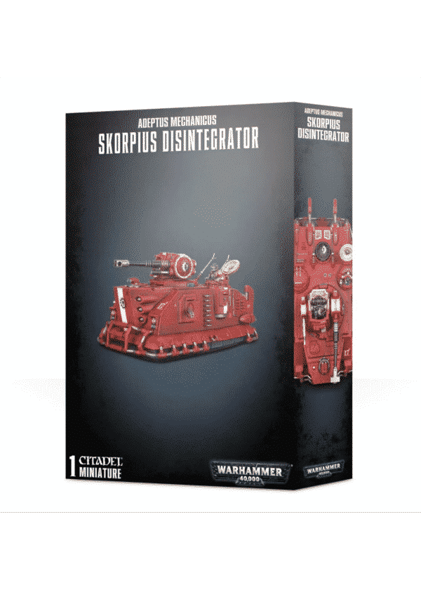 Warhammer 40000 Adeotys mechanicus Skorpius Disintegrator