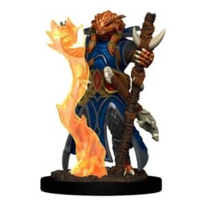 D&D Icons of the Realms: Premium Painted Figure - Dragonborn Sorcerer Female