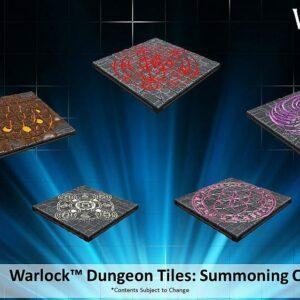 WarLock Dungeon Tiles: Summoning Circles