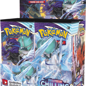 Pokemon SS6 Chilling Reign Booster Display