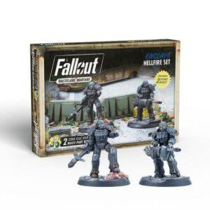 Fallout - Wasteland Warfare - Enclave Hellfire Set
