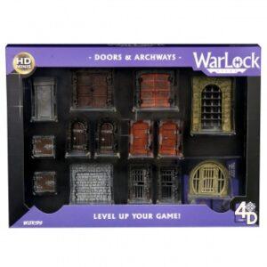 WarLock Dungeon Tiles: Doors & Archways