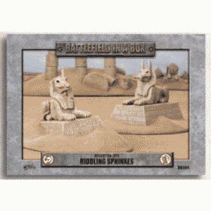 Battlefield In A Box - Forgotten City - Riddling Sphinxes