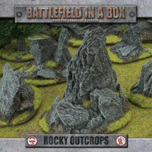 Battlefield in a Box - Rocky Outcrops