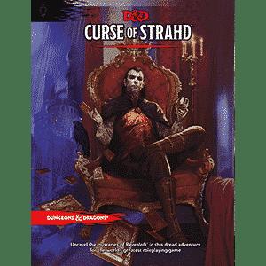 D&D 5.0 - Curse of Strahd TRPG