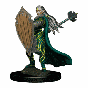 D&D Icons of the Realms - Premium Painted Figure - Elf Paladin Female