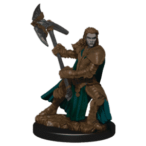 D&D Icons of the Realms - Premium Painted Figure - Half-Orc Fighter Female
