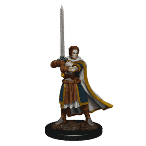 D&D Icons of the Realms: Premium Painted Figure - Human Cleric Male