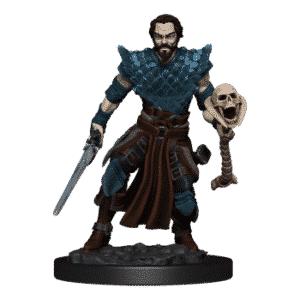 D&D Icons of the Realms - Premium Painted Figure - Human Warlock Male