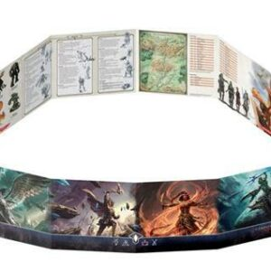 D&D Temple of Elemental Evil DM Screen