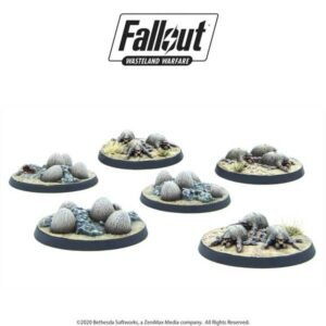 Fallout: Wasteland Warfare - Wasteland Creatures: Mirelurk Hatchlings + Eggs