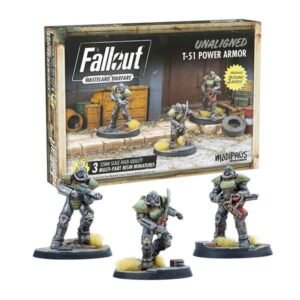 Fallout: Wasteland Warfare - Unaligned: T51 Power Armour