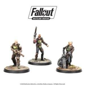 Fallout Wasteland Warfare - Ack Ack, Sinjin & Avery