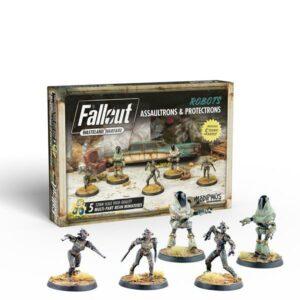 Fallout Wasteland Warfare - Assaultrons & Protectrons