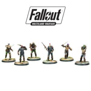 Fallout: Wasteland Warfare - Raiders, Scavvers & Psychos