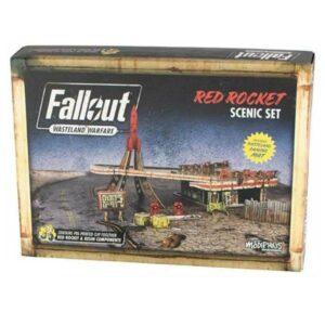 Fallout - Wasteland Warfare - Red Rocket Scenic Set