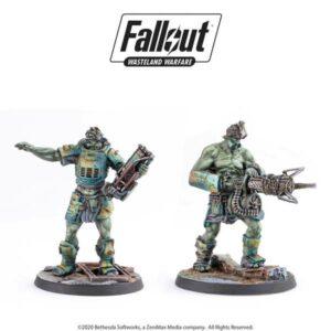 Fallout - Wasteland Warfare - Super Mutants - Fist & Overlord