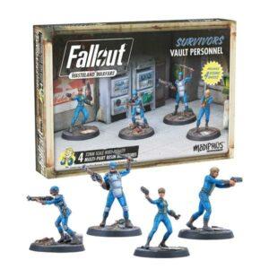 Fallout: Wasteland Warfare - Survivors: Vault Personnel
