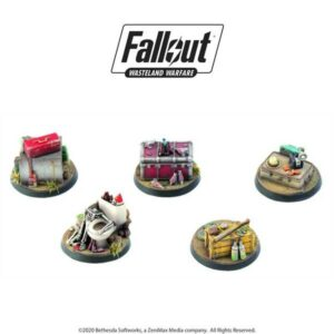 Fallout - Wasteland Warfare - Terrain Expansion - Objective Markers 1
