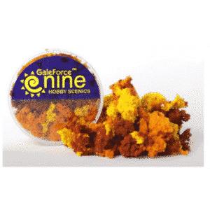 GF9 - Hobby Round - Autumn 3 Color Clump Foliage Mix