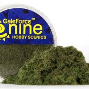 GF9 - Hobby Round - Dark Green Static Grass