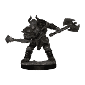 Pathfinder Battles - Premium Painted Figure - Half-Orc Barbarian Male