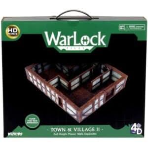 WarLock Tiles - Town & Village II - Full Height Plaster Walls Expansion