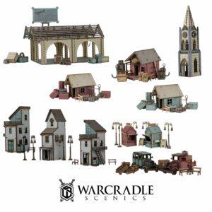 Warcradle Scenics - Dunsmouth - Dock Set