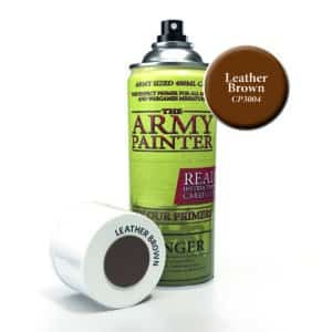 Army Painter Base Primer - Leather Brown (400ml) CP3004