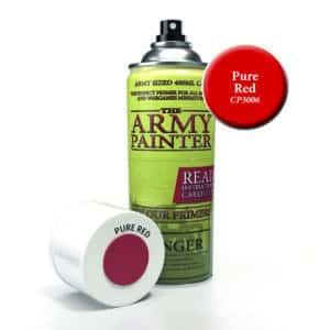 Army Painter Base Primer - Pure Red (400ml) CP3006
