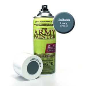 Army Painter Base Primer - Uniform Grey (400ml) CP3010