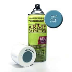 Army Painter Base Primer - Wolf Grey (400ml) CP3021