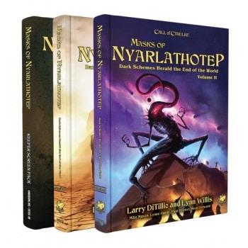 Call of Cthulhu - Masks of Nyarlathotep - Slipcase Set