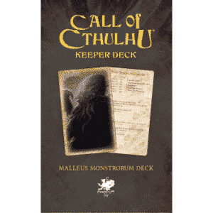Call of Cthulhu - The Malleus Monstrorum Keeper Deck