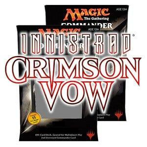 MTG: Crimson Vow - Commander Decks (2)