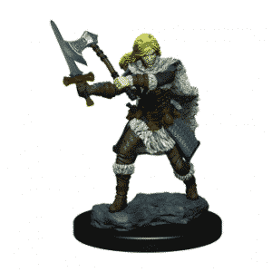 D&D Icons of the Realms Premium Figures - Human Female Barbarian