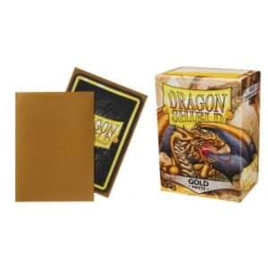 Dragon Shield Standard Sleeves - Matte Gold (100 Sleeves)