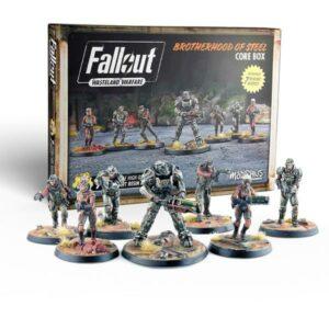 Fallout Wasteland Warfare - Brotherhood of Steel Core Box