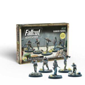Fallout - Wasteland Warfare - NCR Ranger Patrol
