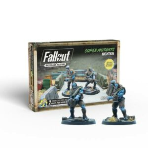 Fallout - Wasteland Warfare - Super Mutants Nightkin