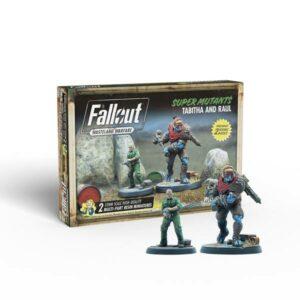 Fallout - Wasteland Warfare - Super Mutants Tabitha and Raul