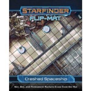 Starfinder Flip-Mat - Crashed Starship