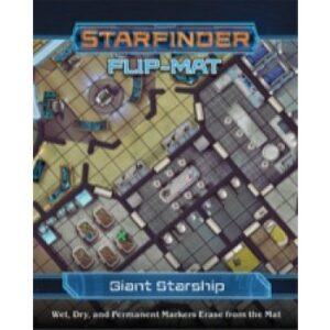 Starfinder Flip-Mat - Giant Starship