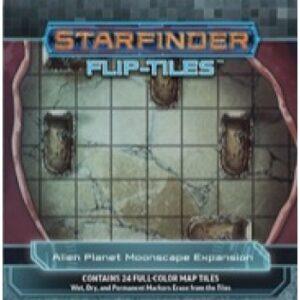 Starfinder Flip-Tiles - Alien Planet Moonscape Expansion