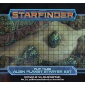 Starfinder Flip-Tiles - Alien Planet Starter Set