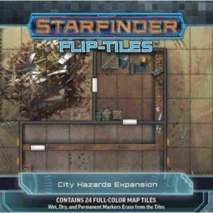 Starfinder Flip-Tiles - City Hazards Expansion