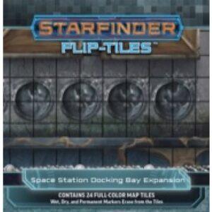 Starfinder Flip-Tiles - Space Station Docking Bay Expansion