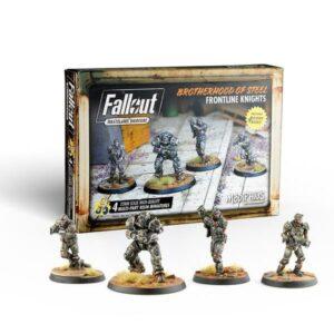 Fallout Wasteland Warfare - Brotherhood of Steel Frontline Knights