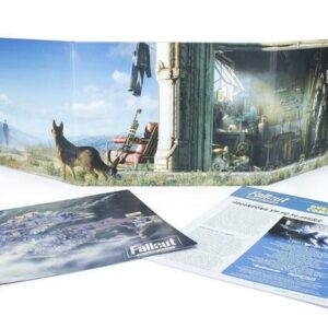 Fallout Wasteland Warfare - RPG - GM Screen and Booklet